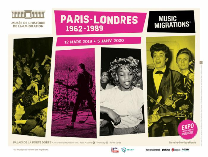 Exposition : ''Paris - Londres Music Migrations''