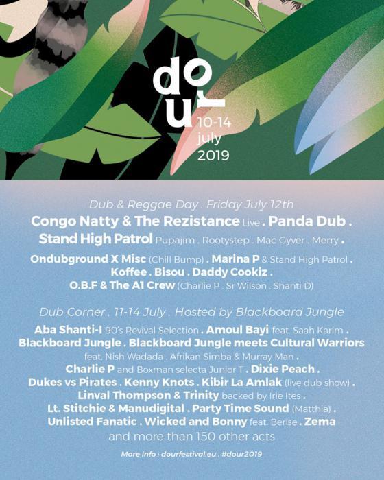 Dour Festival : une journée dub reggae