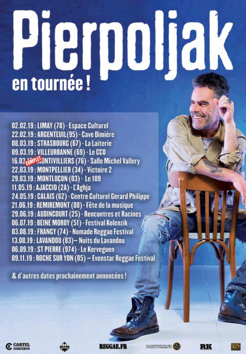 Pierpoljak en tournée