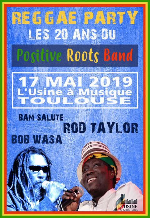 Positive Roots Band fête ses 20 ans en tournée