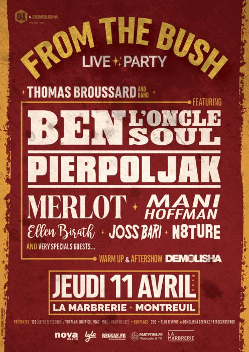 Release Party pour Thomas Broussard à Montreuil