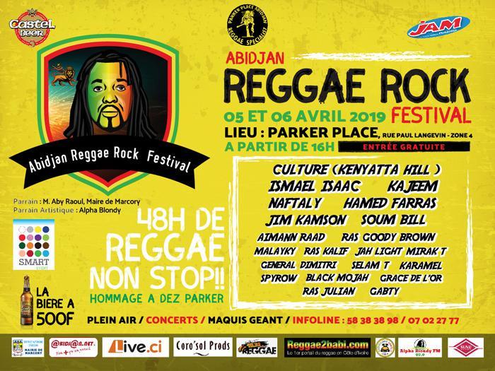 Abidjan Reggae Rock Festival ce week-end
