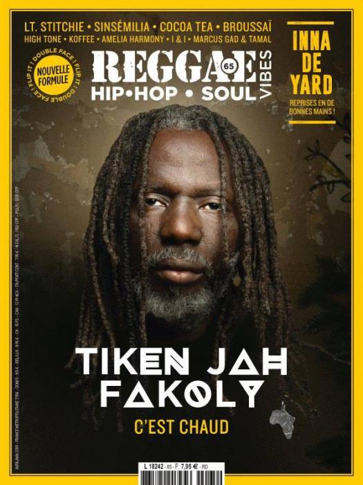 Reggae Vibes #65 en kiosque