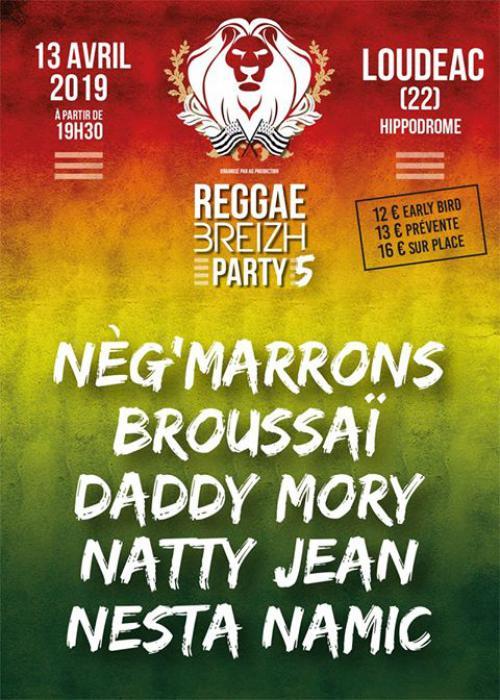 Reggae Breizh Party #5 à Loudéac