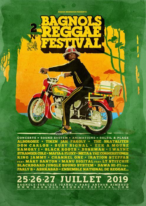 Du nouveau au Bagnols Reggae Festival : Busy Signal, Skatalites...