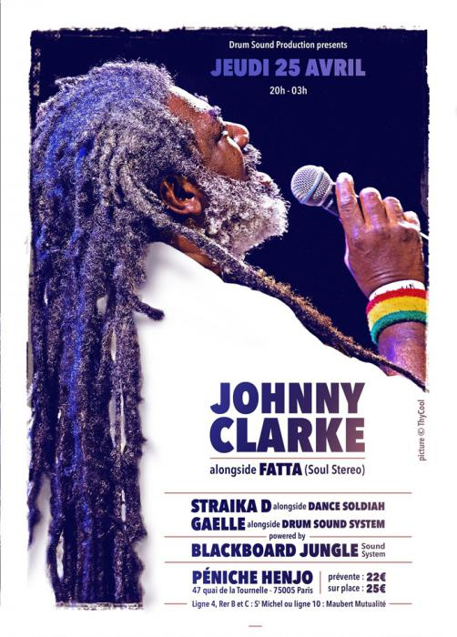 Johnny Clarke & Straïka en sound à Paris