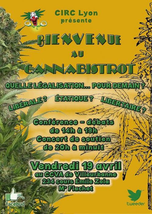 Génération H au Cannabistrot de Lyon