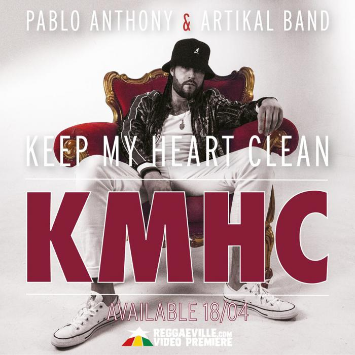 Pablo Anthony : 'Keep my Heart Clean' le clip