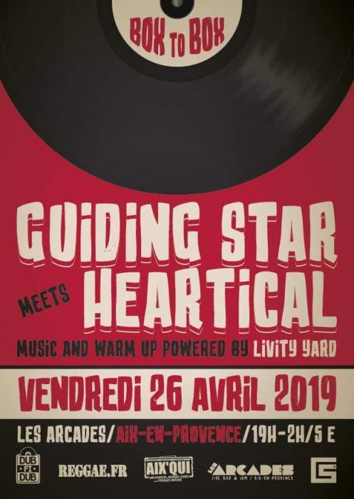 Heartical & Guiding Star à Aix en Provence