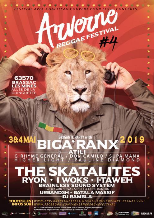 Arverne Reggae Festival avec Biga Ranx & The Skatalites