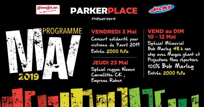 Le programme du Parker Place en mai à Abidjan