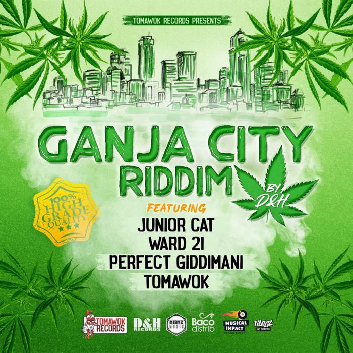 Ganja City Riddim par Tomawok