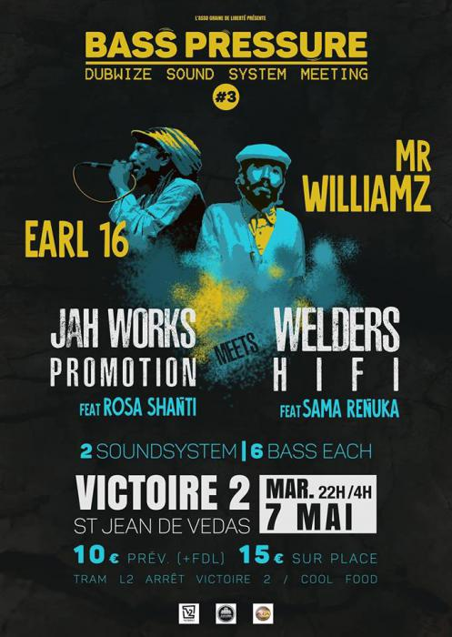 Earl 16 & Mr Williamz à Montpellier mardi