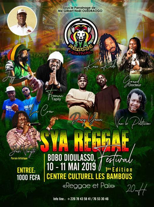 Un festival reggae au Burkina