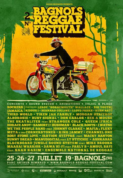 Bagnols Reggae Festival : la prog déf avec Johnny Clarke