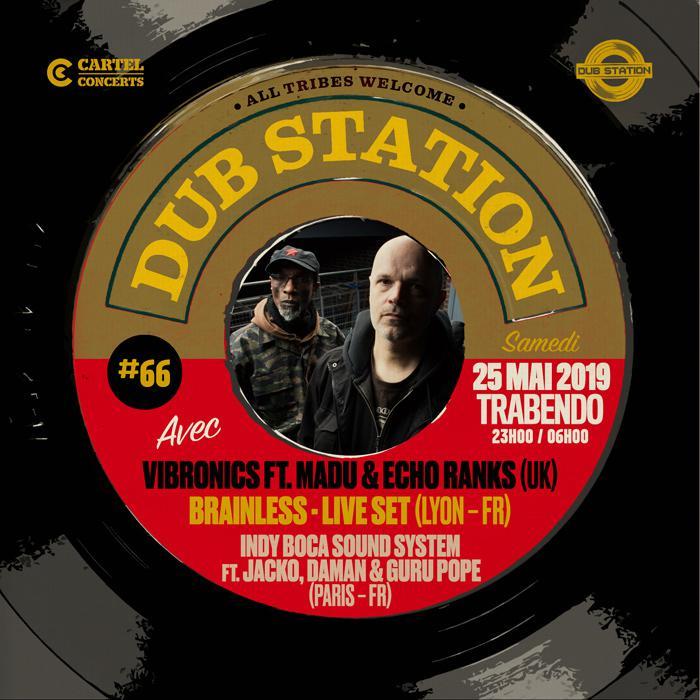 Paris Dub Station #66 avec Vibronics