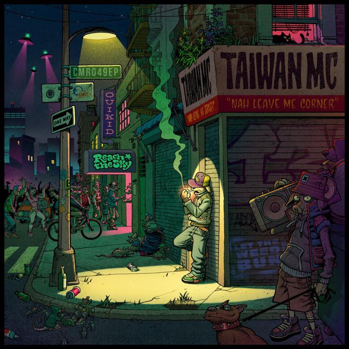 Taiwan MC : 'Nah Leave Me Corner' l'EP