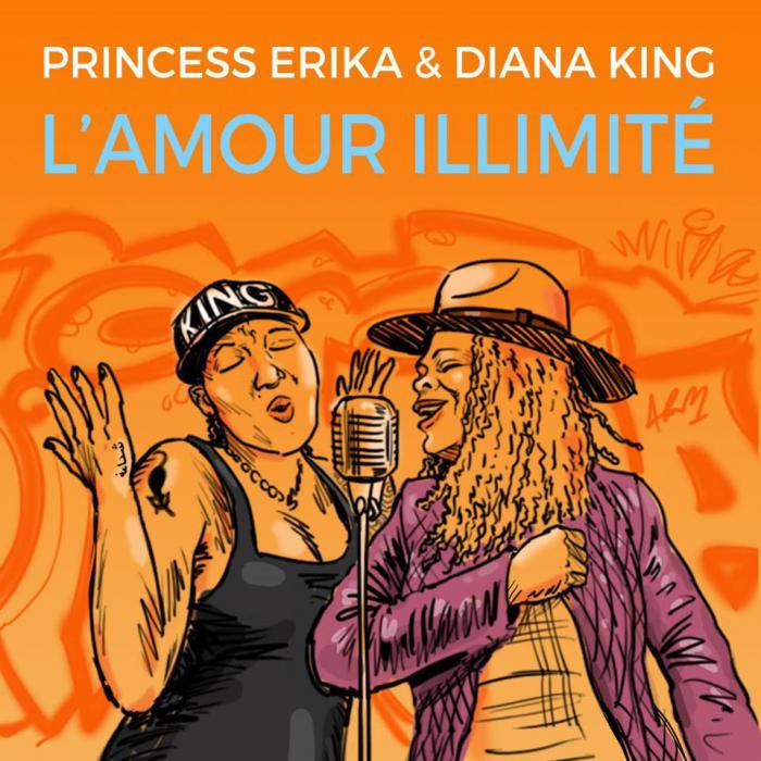 Princess Erika & Diana King : 'L'amour illimité' le clip
