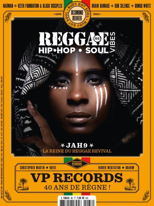Reggae Vibes #66 en kiosque