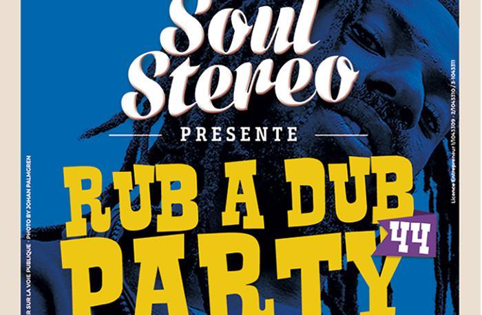 Rub A Dub Party #44 au Cabaret Sauvage vendredi