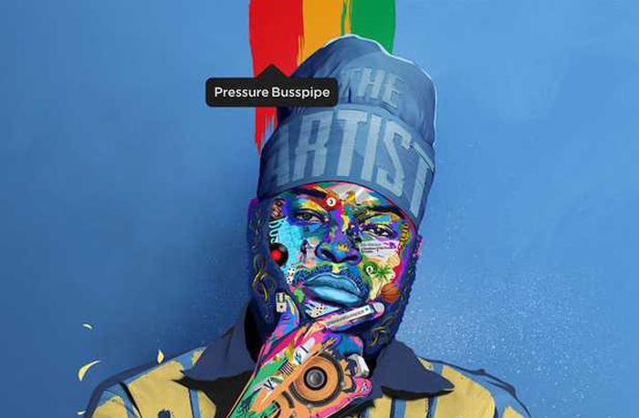 Pressure Busspipe : 'The Artist' l'EP