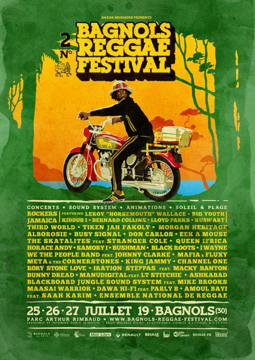 Bagnols Reggae Festival : des pass 3 jours à gagner