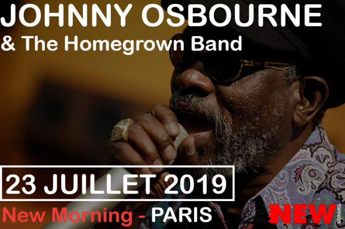 Johnny Osbourne au New Morning : places à gagner
