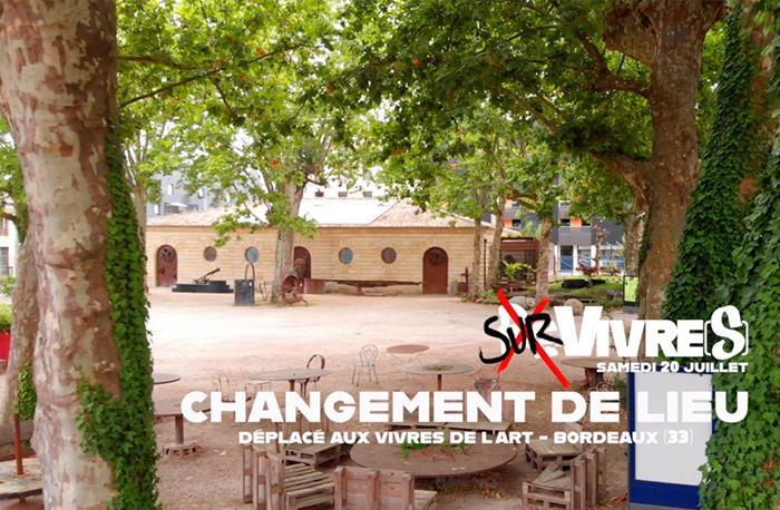 Re-Vivre(s) Festival à Bordeaux : changement de lieu