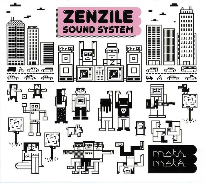 Zenzile édite 500 vinyles de 'Meta Meta'