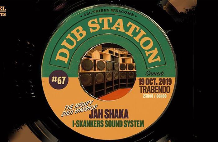 Paris Dub Station #67 avec Jah Shaka