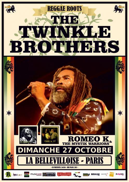 Twinkle Brothers à Paris