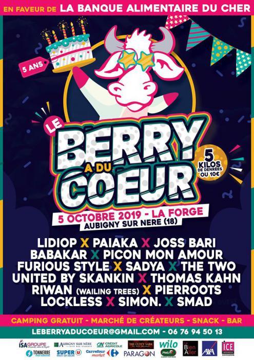 Le Berry A Du Coeur : festival solidaire