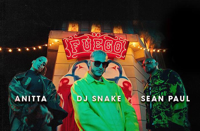 Sean Paul dans un clip avec DJ Snake & Anitta