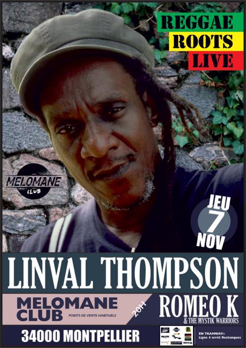 Linval Thompson à Montpellier