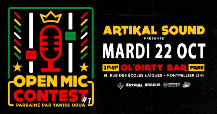 Artikal Sound lance un open mic contest