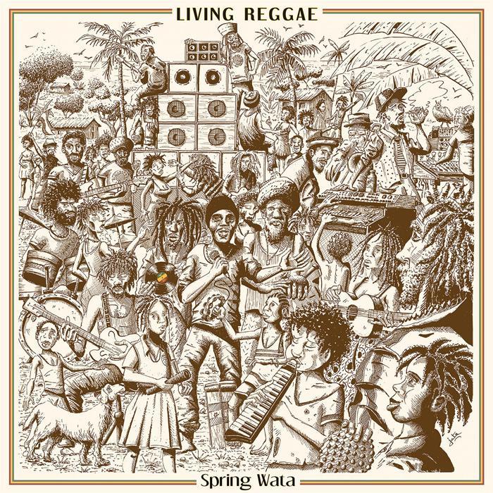 Blackboard Jungle : nouveau LP avec le Jamaïcain Spring Wata