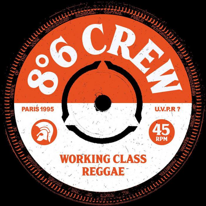 8'6 Crew 'Green and white ska' l'EP