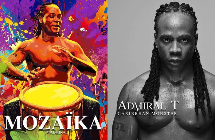 Les deux nouveaux albums d'Admiral T
