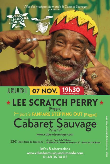 Lee Perry à Paris ce jeudi : places à gagner