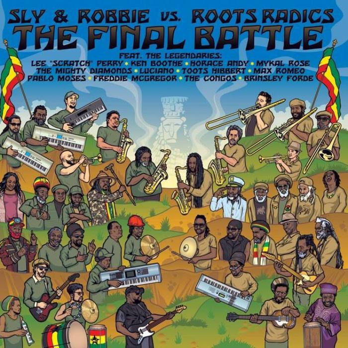 Roots Radics VS Sly & Robbie dispo en vinyle