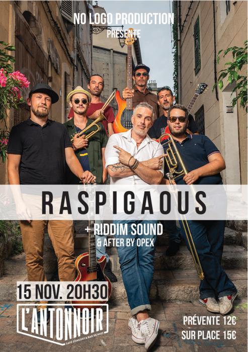 Raspigaous à Besançon demain