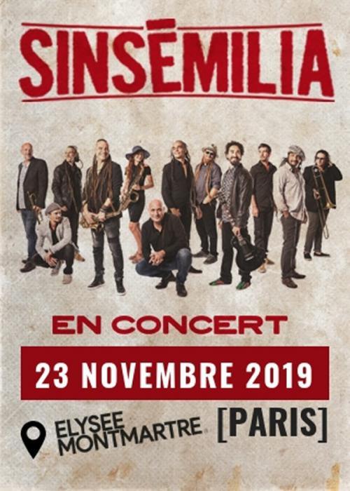 Sinsémilia à l'Elysée Montmartre ce samedi