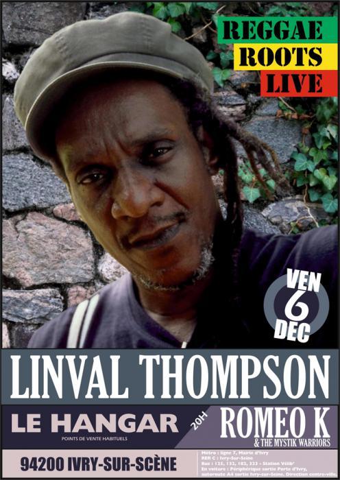 Linval Thompson à Ivry-sur-Seine