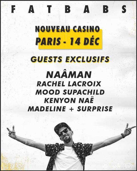 Fatbabs en concert à Paris