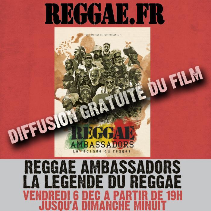 Reggae Ambassadors Diffusion Exclusive et Gratuite ce weekend