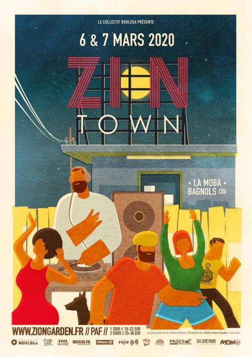 Le Zion Garden d'Hiver devient Zion Town
