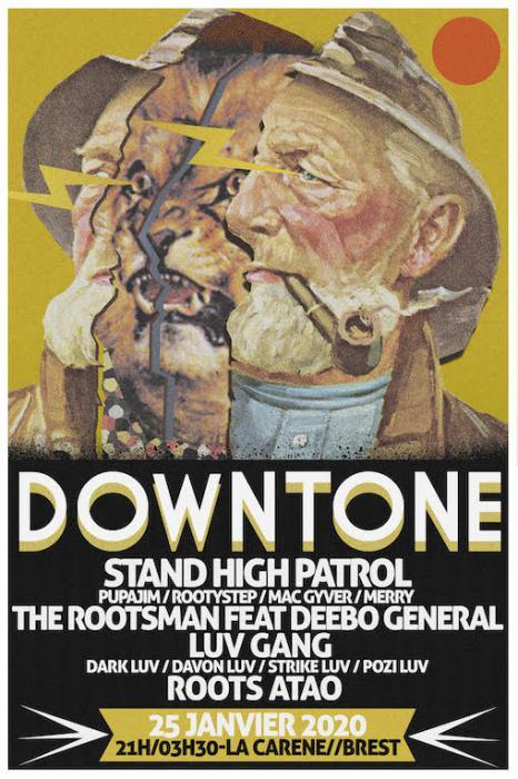 Concours : DownTone avec Stand High à Brest le 25 janvier