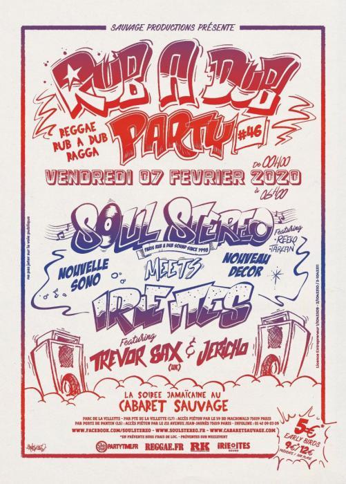Rub a Dub Party #46 le 7 février
