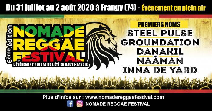Les premiers noms du Nomade Reggae Festival