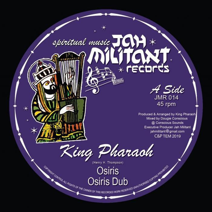 Jah Militant : nouveau 12 pouces avec King Pharaoh